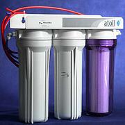 Тройной фильтр для воды под мойку Atoll 313E.