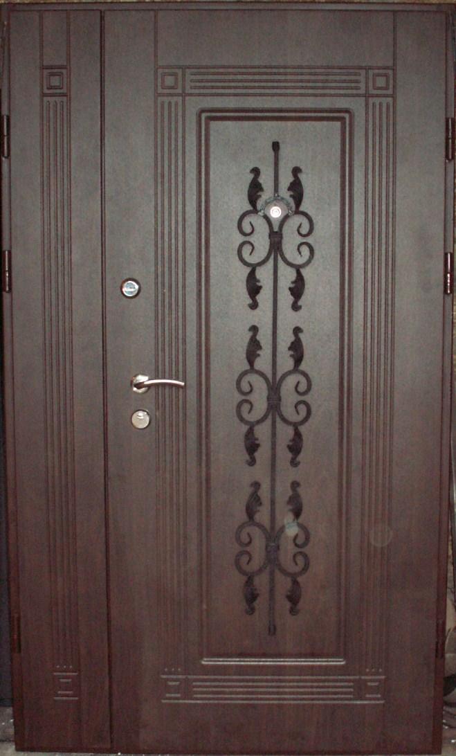 двери бронированные двухстворчатые входные