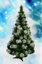 Новогодние искусственные елки и искусственные сосны