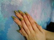 Наращивание ногтей в Ялте: гель,  акрил. Маникюр,  педикюр