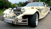 Прокат лимузинов. Автомобиль на свадьбу: Кабриолет,  Хаммер,  Лимузин,  Ретро,  Микроавтобус. Евпатория,  Саки