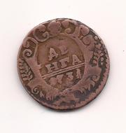 Продам монету Денга 1731 года.
