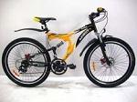 Горные двухподвесные велосипеды: Azimut