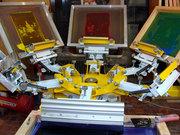 Оборудование для шелкотрафаретной печати. Заводская точная сборка