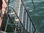 Лестницы для спусков в море