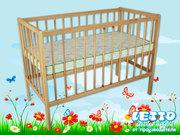 Кроватки детские для новорожденных от производителя.