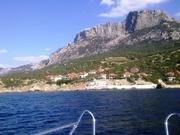 участок от 10 соток Форос на мысе Сарыч возле Черного моря