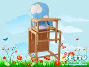 Детский стульчик LETTO для кормления