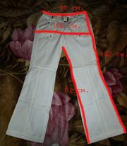 Летние белые брюки фирмы Reject