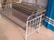 Предприятие реализует кровати металлические,  одеяла,  простыни,  БУ.