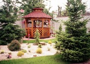 Строительство деревянніх домов,  беседок,  бань.