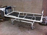 Кровать  Двухсекционная функциональная медицинская  на колесах