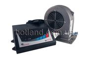 Блок управления и вентилятор к твердотопливным котлам