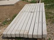 Столбы железобетонные,  деревянные