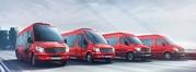 Микроавтобусы в Крыму. Пассажирские перевозки по Крыму: Ялта,  Евпатори