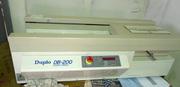 термоклеевая машина (термобиндер) Duplo DB-200