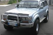Аирдефлектор капота (мухобойка) Toyota Land Cruiser 80