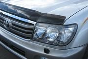 Аирдефлектор капота (мухобойка) Toyota Land Cruiser 100