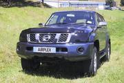Аирдефлектор капота (мухобойка) Nissan Patrol Y61 после 2005 г.в.