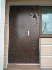 Двери металлические,  кованые