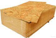Влагостойкая древесная плита OSB-3 2500*1250*9мм