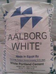 Цемент белый М 600 Д0 (Египет) 50кг