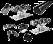 Качественные комплекты консольной фурнитуры для ворот до 400 кг.