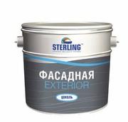 Акриловая фасадная краска Sterling «экстериор цоколь»