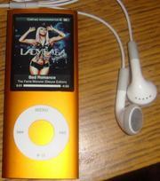 Продам  Apple Ipod Nano 4 gen 8 gb оригинал б/у в отличном состоянии